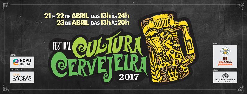 Festival Cultura Cervejeira 2017 Campinas