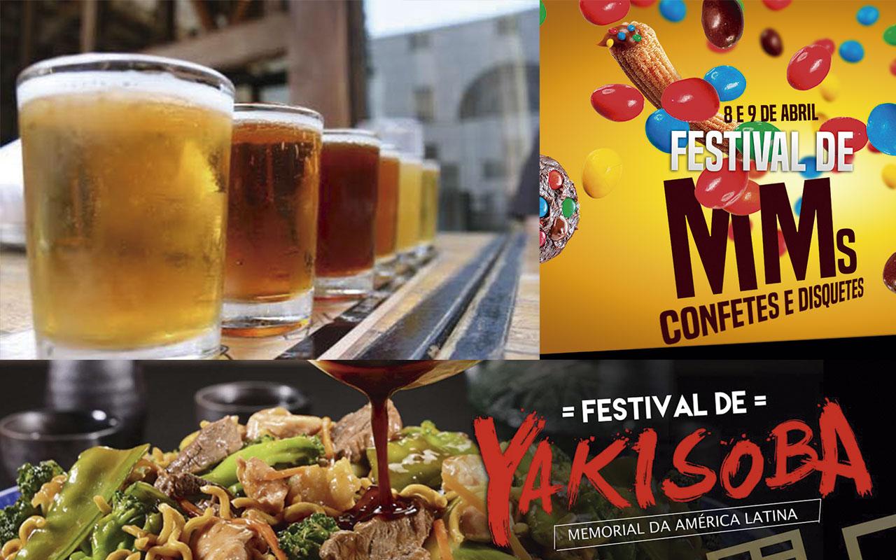 Festival da Cervea, Yaksoba, Tempurá e MM's