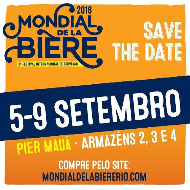 Mondial de La Biere - 5 a 9 de Setembro